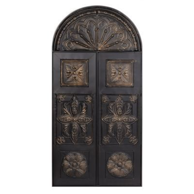 Product Details Bronze Archway Metal Wall Plaque Decor