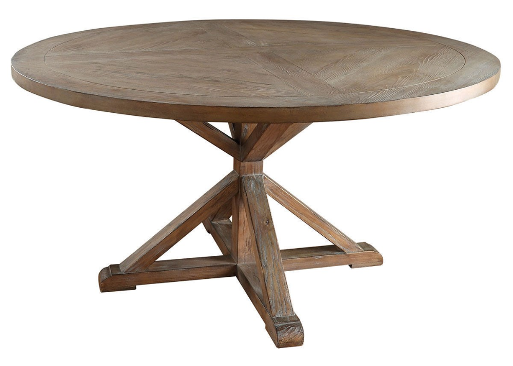 Richland 60 Inch Round Table The Roomplace In 2020 60 Inch