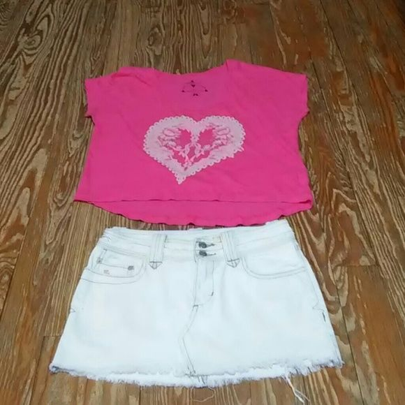 Abercrombie & Fitch Skirt Size 00 & O'Neill Top Abercrombie & Fitch Skirt Size 00 & O'Neill Top Size Small Abercrombie & Fitch Skirts Mini