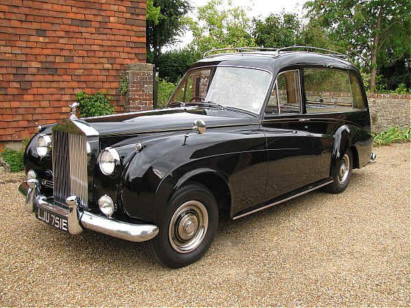 1957 Rolls-Royce Silver Cloud 1 Hearse