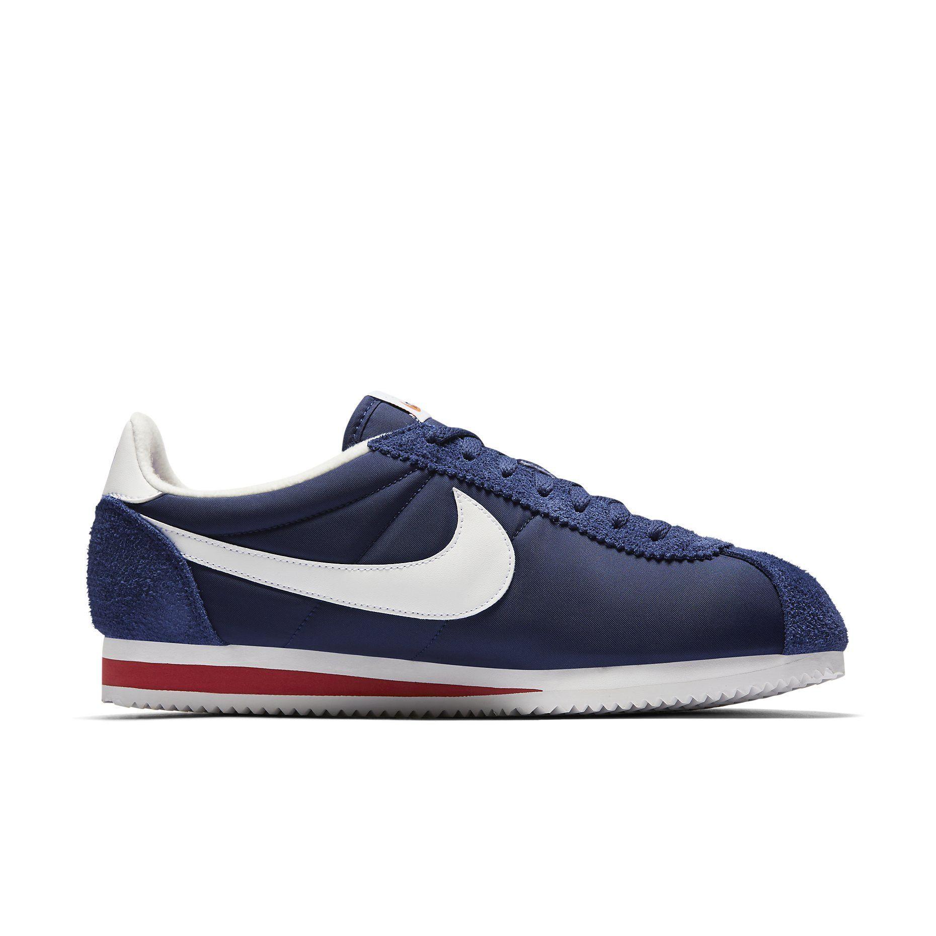 Nike Cortez Nylon Midnight Navy,white saiz.co.uk