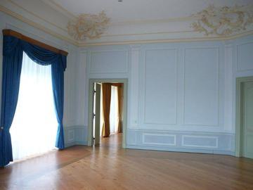 fu bodenbeschichtung restauration stuckverzierter decken und innenraumgestaltung mit farbe aus. Black Bedroom Furniture Sets. Home Design Ideas