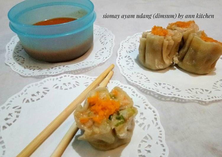 Resep Siomay Ayam Udang Dimsum Oleh Falen Ann Resep Makanan Resep Resep Ayam