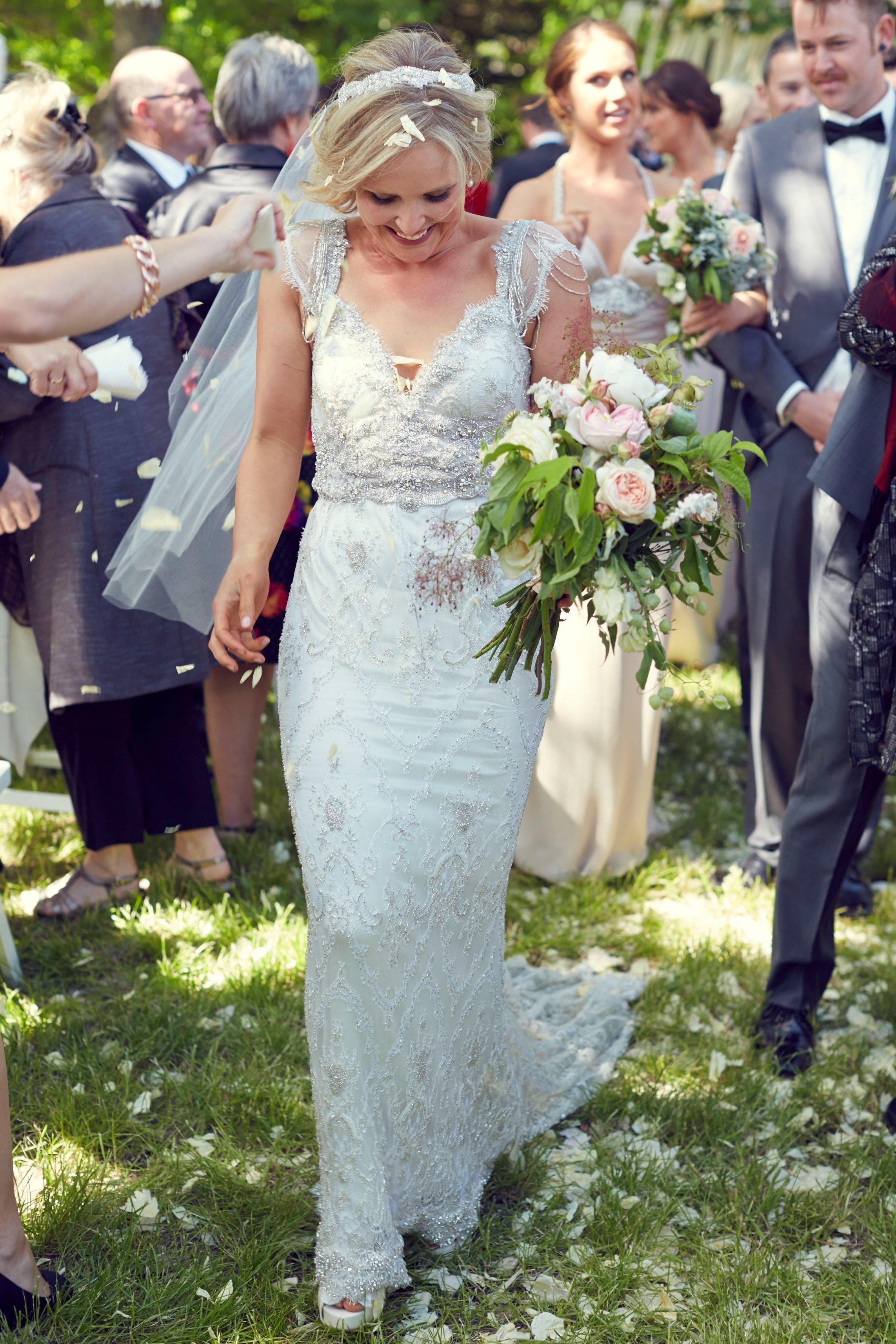 Mature bride wedding dresses  Romantic and Rustic Victoria Wedding at Andersonus Mill  Milling