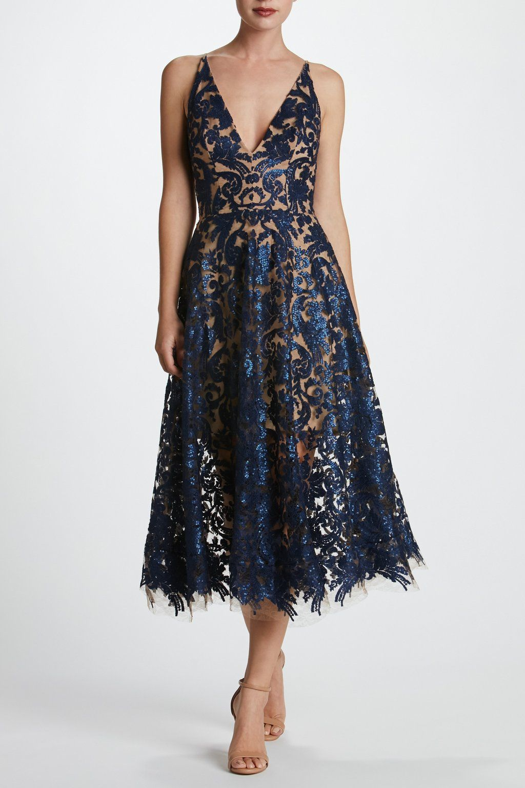 b80b23c875d Blair Sequin Lace Fit and Flare Midi Dress - FINAL in 2019