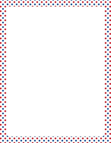 Resultados de la búsqueda de imágenes Polka Dot Border Template - downloadable page borders for microsoft word