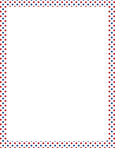 Resultados De La Bsqueda De Imgenes Polka Dot Border Template