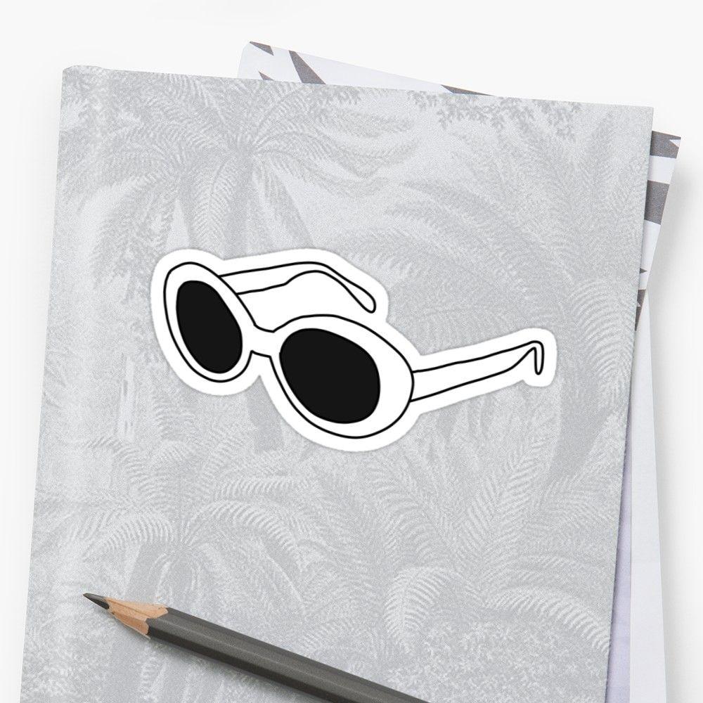 Clout Goggles Sticker Goggles Stickers Cat Eye Sunglasses