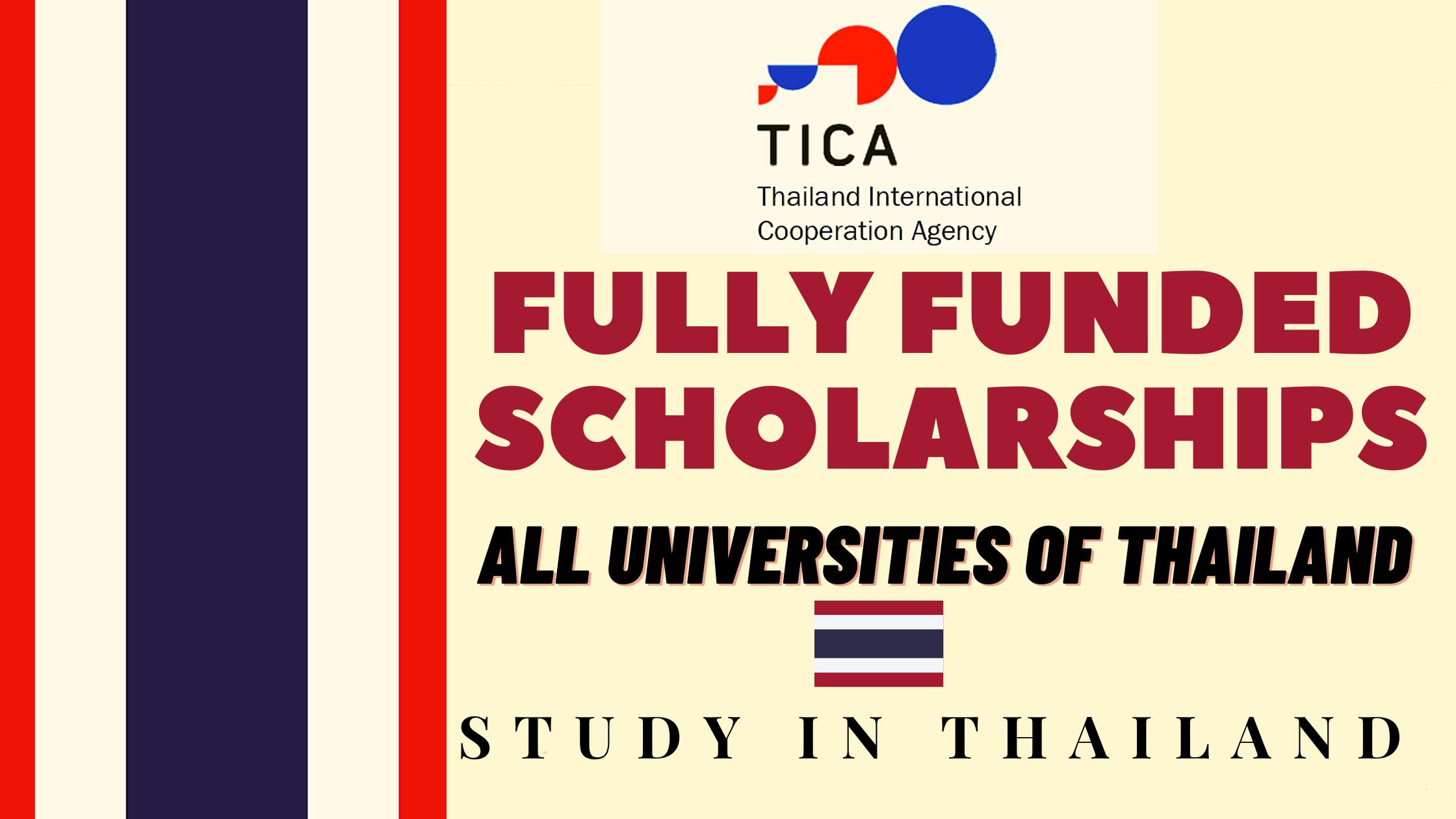 Full Scholarship For Thai Students 2021