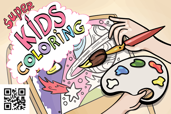 Super Kids Coloring