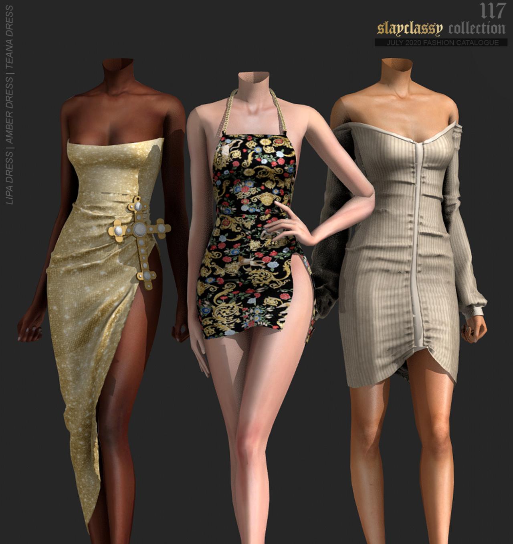 ♡ download via simsdom Sims 4 dresses Sims 4 mods clothes