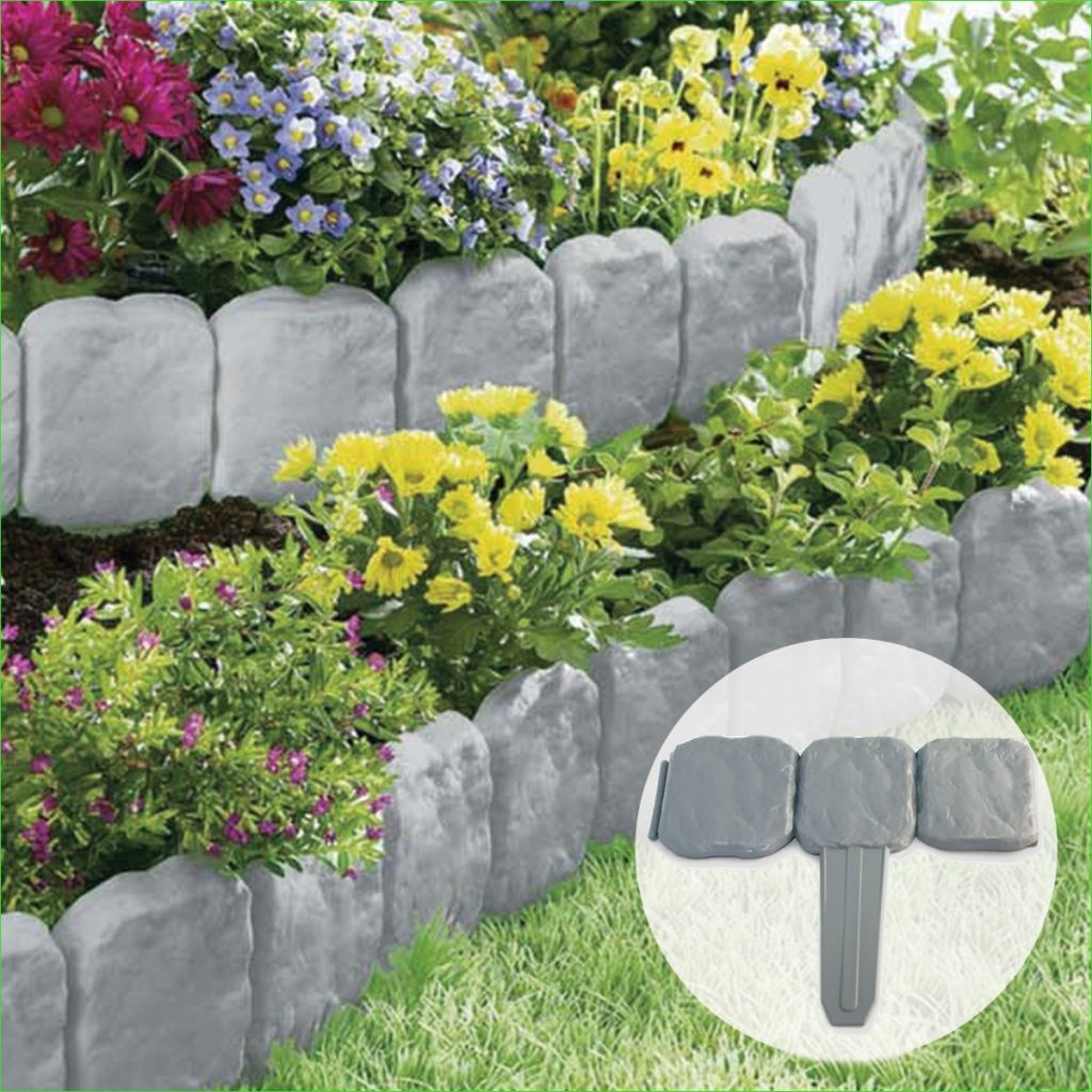 Inexpensive Garden Edging and Borders Design Garden