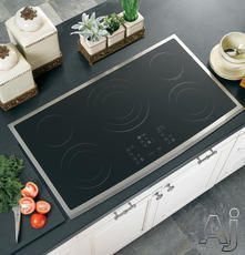 LG 30 BLACK RADIANT ELECTRIC SMOOTHTOP COOKTOP WITH SMOOTHTOUCH CONTROLS LCE3010SB