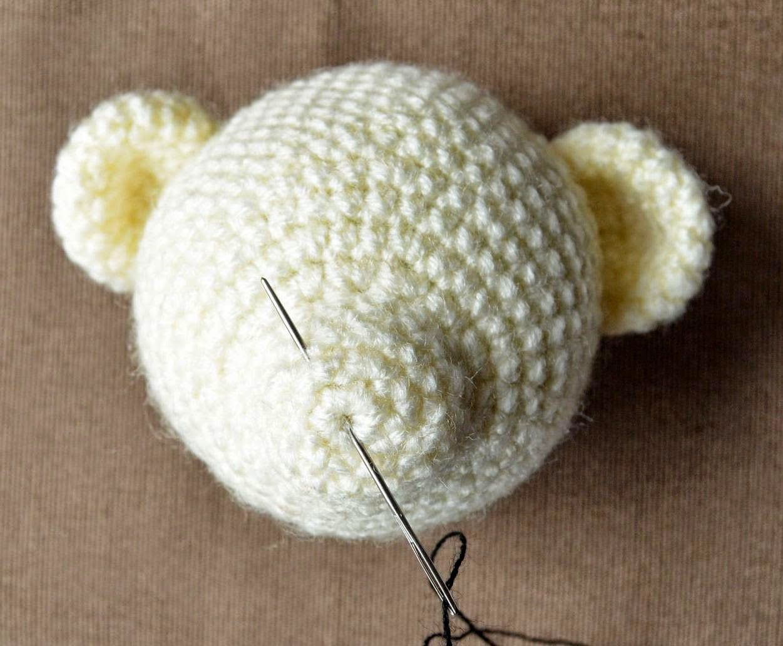 Amigurumi Bear Nose : How to embroider bear s nose crochet amigurumi