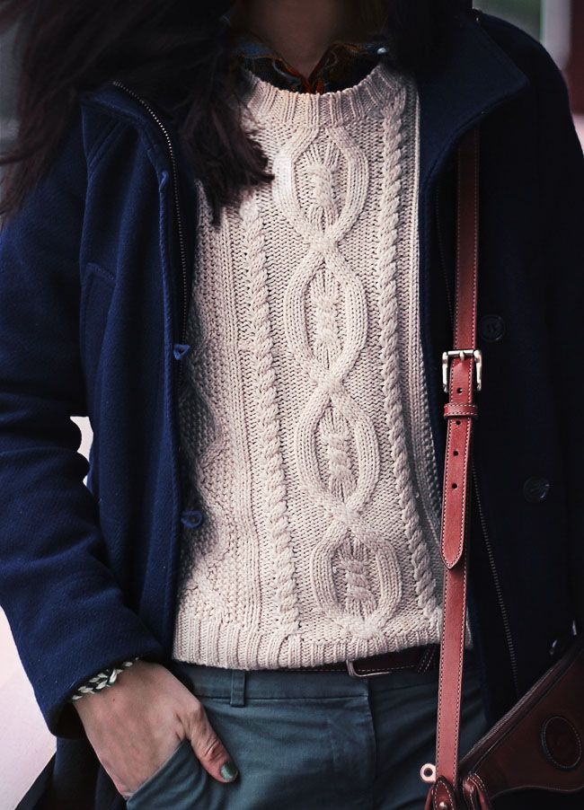 cable knit cozy