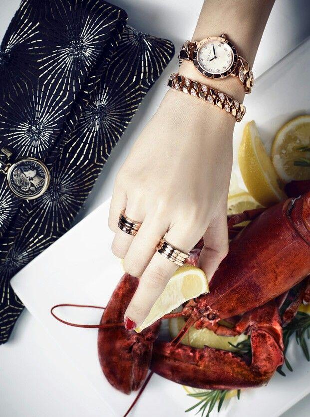 Bvlgari Accessories in Dichan magazine Thailand still life photography | LL_精致 | Bvlgari accessories, Jewelry photography, Jewelry editorial