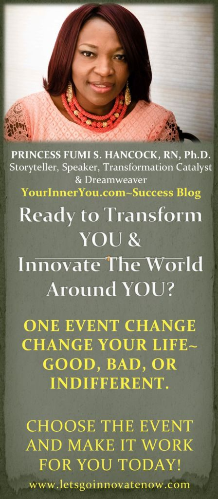 Blog - Success Blueprint for Your Inner You. Get ready to Transform & Innovate Your Life~ Yourinneryou.com SUBSCRIBE NOW.