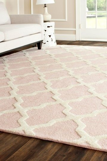 Cambridge Rug - Light Pink/Ivory | spaces for small folks | Home ...