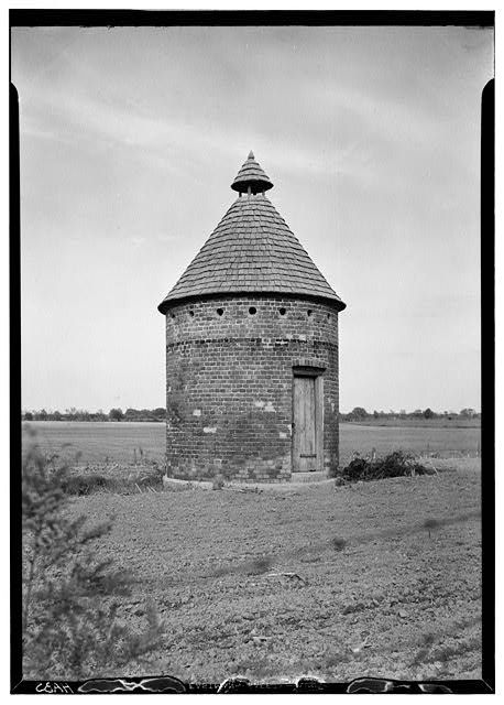 18th-Century dovecote, Shirley Plantation, Charles City County, VA. I want one of these in my garden.