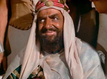 Hugh Griffith in Ben-Hur (1959) #benhur1959 Hugh Griffith in Ben-Hur (1959) #benhur1959