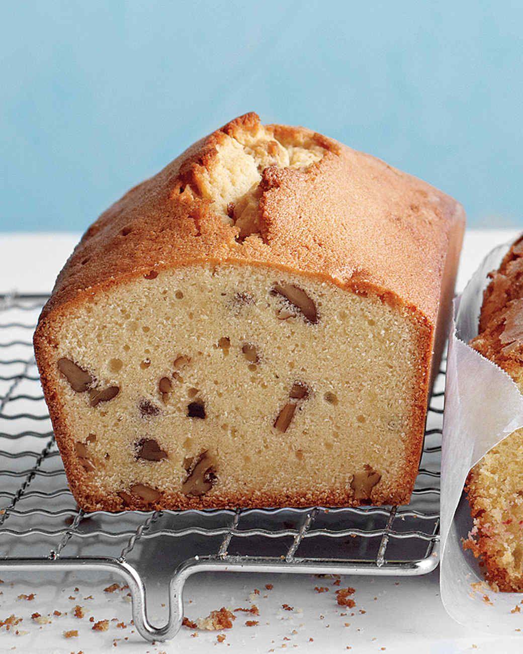 Brown sugar maple and pecan pound cake recipe cake