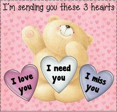Three hearts | Teddy | Hug quotes, Teddy bear quotes, Love