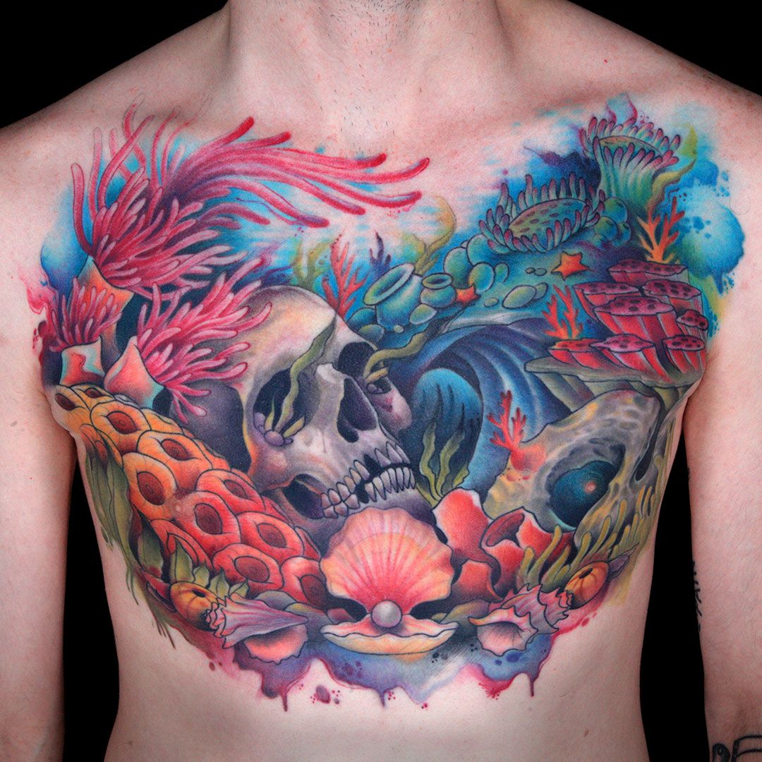 Master Canvas by Gian Karle Cruz Ink master tattoos, Sea