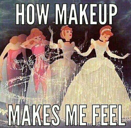 how makeup makes me feel