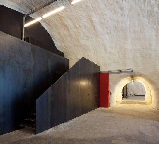 Coolest fire station ever!  Fire Magreid / Bergmeister Wolf Architekten   ArchDaily