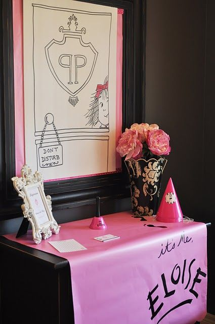 Eloise Themed Birthday Party - Kara's Party Ideas - The Place for All Things Party