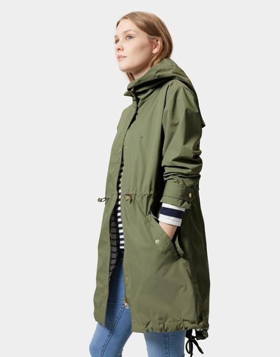 SWITHIN Parka-Style Waterproof Jacket | Woman, Khakis and Spring summer  fashion