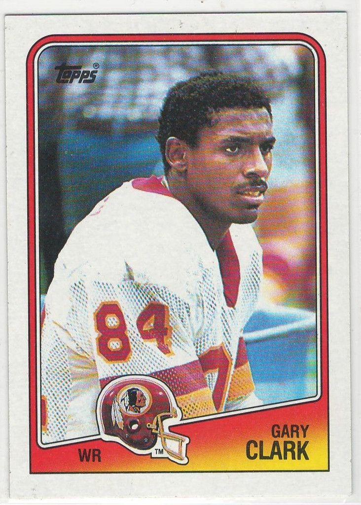 1988 topps gray clark 13 football trading cards