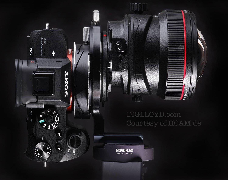 Diglloyd Blog Hcam Master Ts V2 Tilt X2f Shift Adapter For Canon 11 24mm F X2f 4l Tilt Shift Sony A7r Ii Master