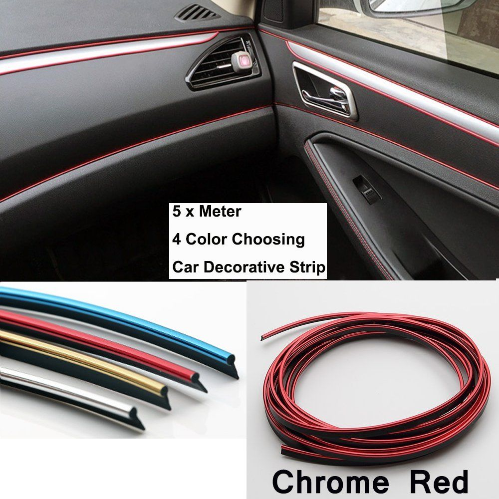 OEM TUON Red Front Side Speaker Molding Cover Kit Set For - Decals for boat carpetprojects by eye candy signs