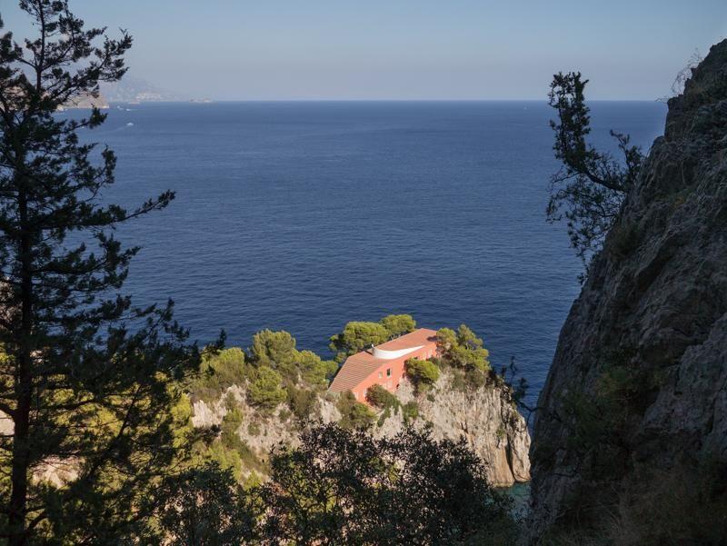 Villa Malaparte a Capri: una casa verso l'infinito