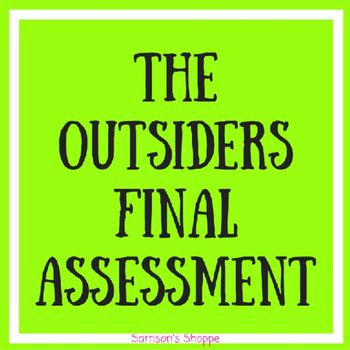 The outsiders essay questions and answers