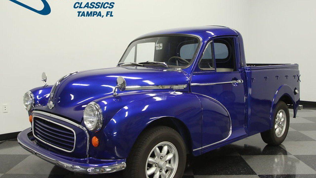 1958 Morris Minor for sale 100911789 | Old Trucks | Pinterest ...