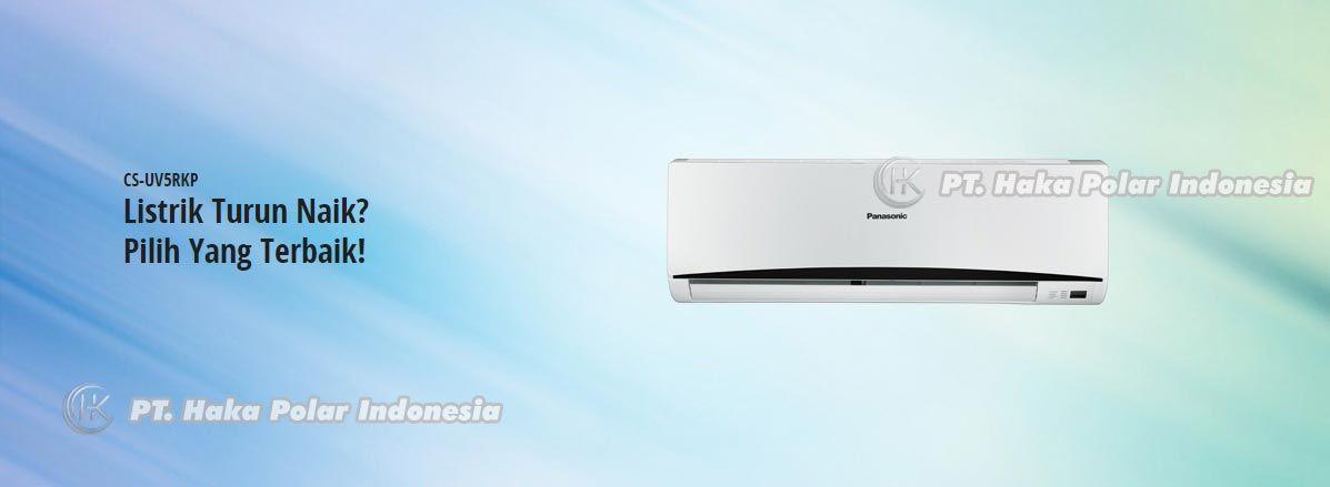 AC Panasonic CS UV5RKP 1 2 PK Split Wall Mounted Low Voltage R410A Detail