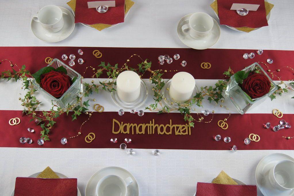 Deko Diamantene Hochzeit Fresh Tischdeko Diamanthochzeit Bordeaux Tischdeko Hochzeit Diamantene Hochzeit Tischdeko Hochzeit Hochzeit