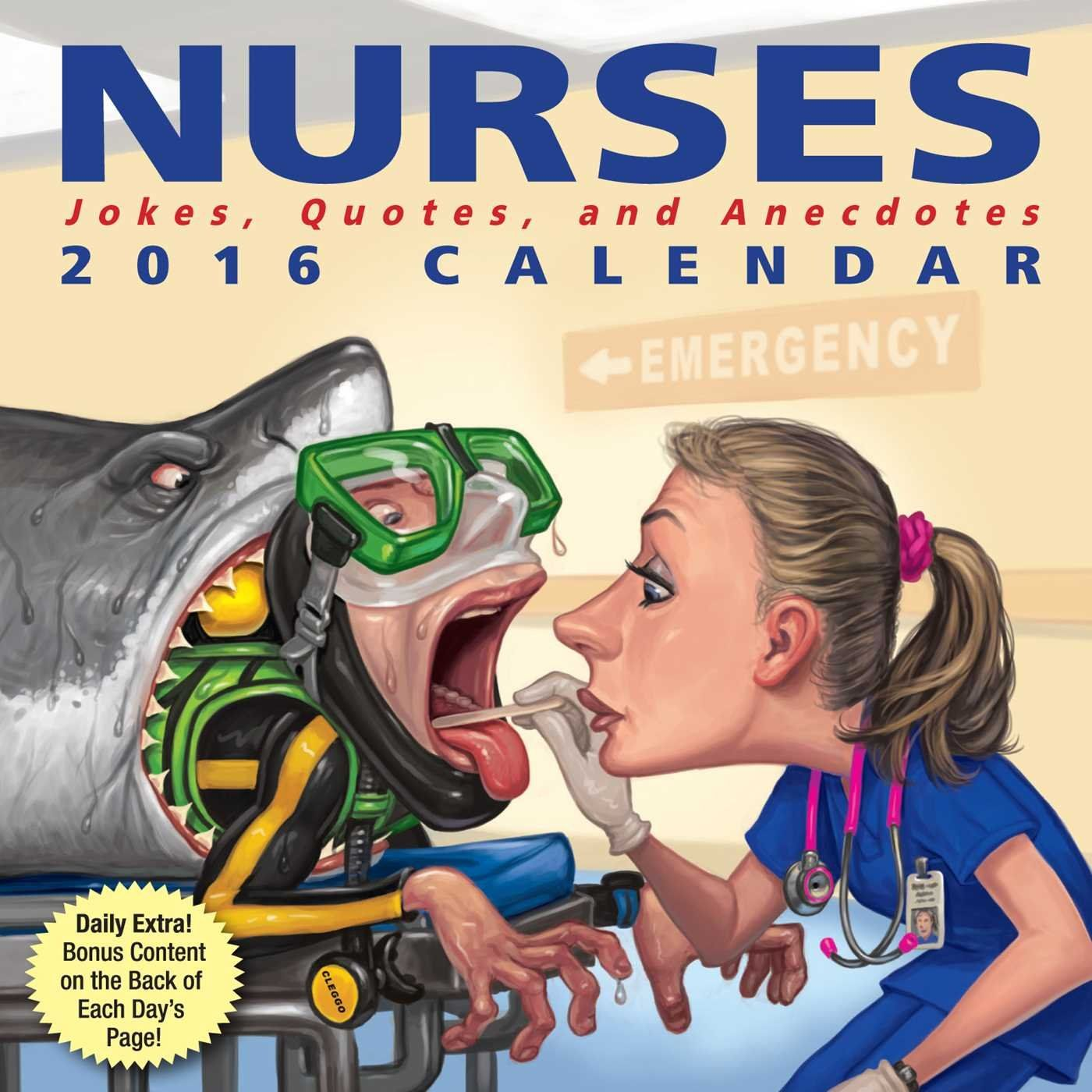 Top 10 Best Funny DaytoDay Calendars 2020 Nurse jokes