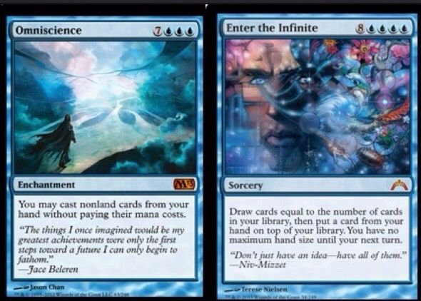 Omniscience + Enter the Infinite combo | MTG | Magic the