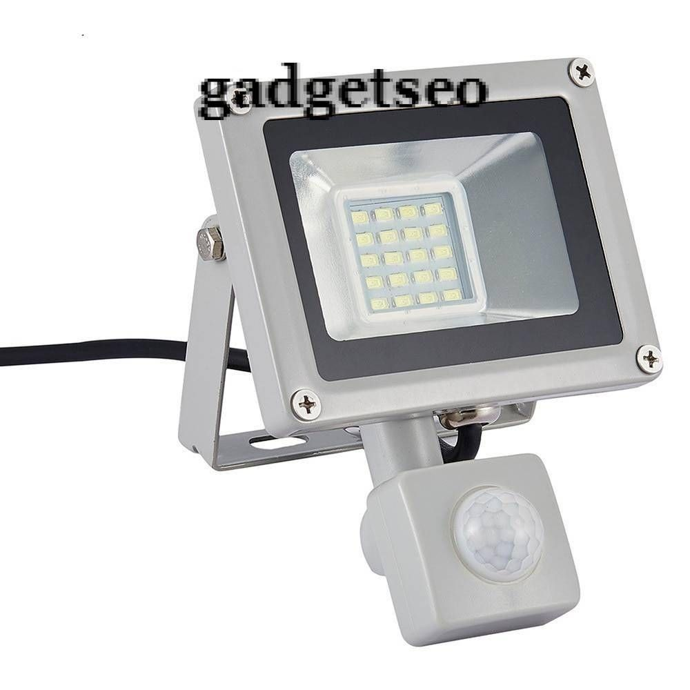 Gadgetseo Commotion Sensor Waterproof Outdoor Floodlight Led Lamp In 2020 Led Flood Lights Led Outdoor Lighting Sensor Lights Outdoor