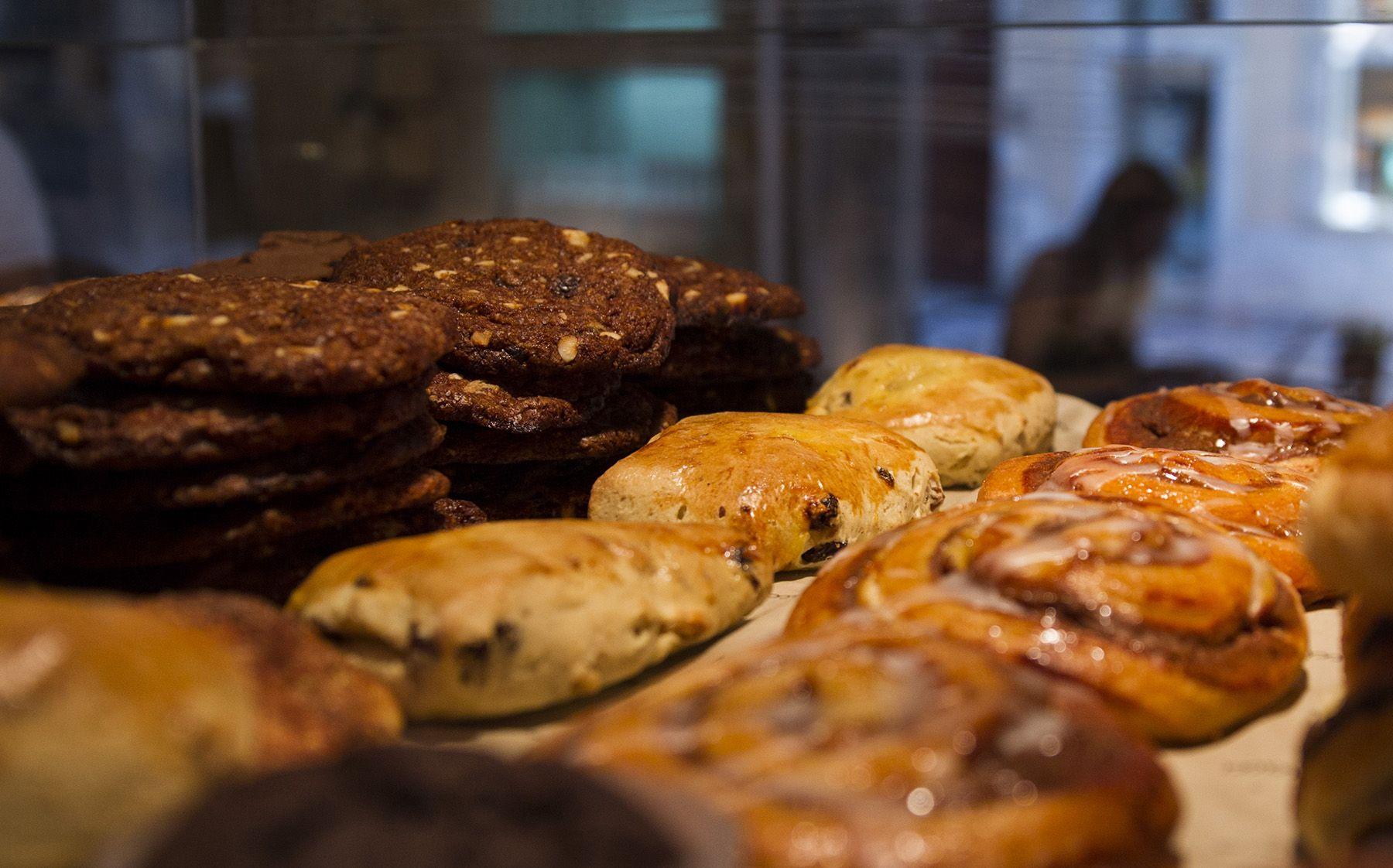 Delicious treats and coffee at Fibonacci...