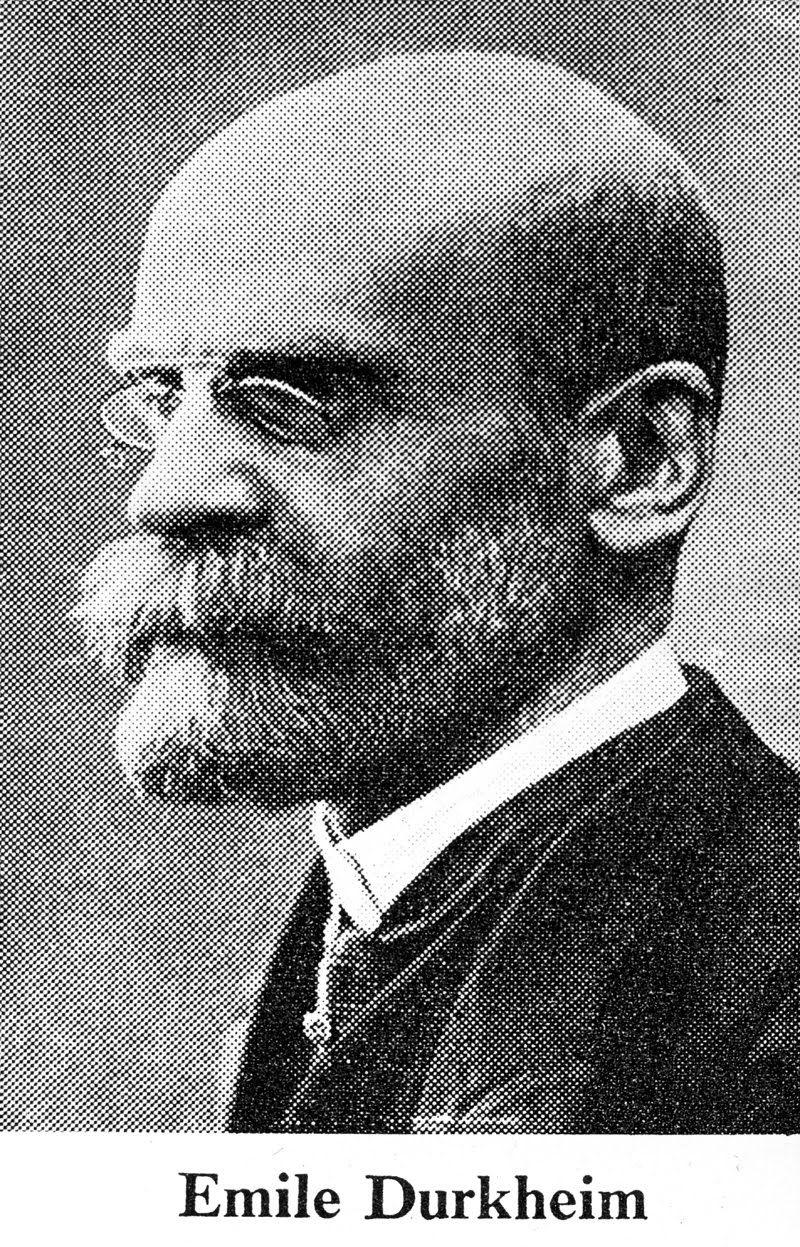 Sociology/ Emile Durkheim term paper 15990