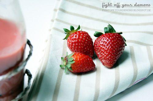 Make your own Strawberry-Kiwi-Smoothie