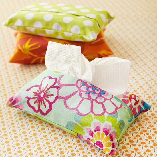 tissue pack cover sewing projects and sewing patterns