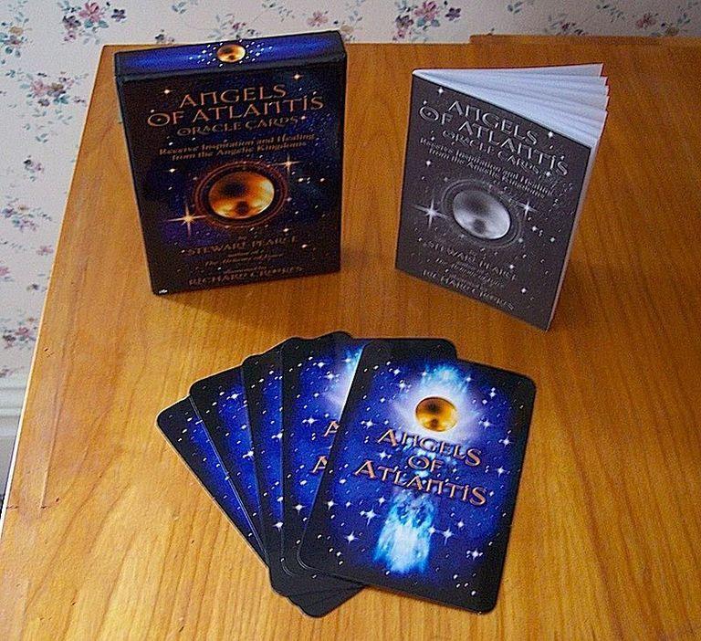 Angels of atlantis oracle card deck angel oracle cards