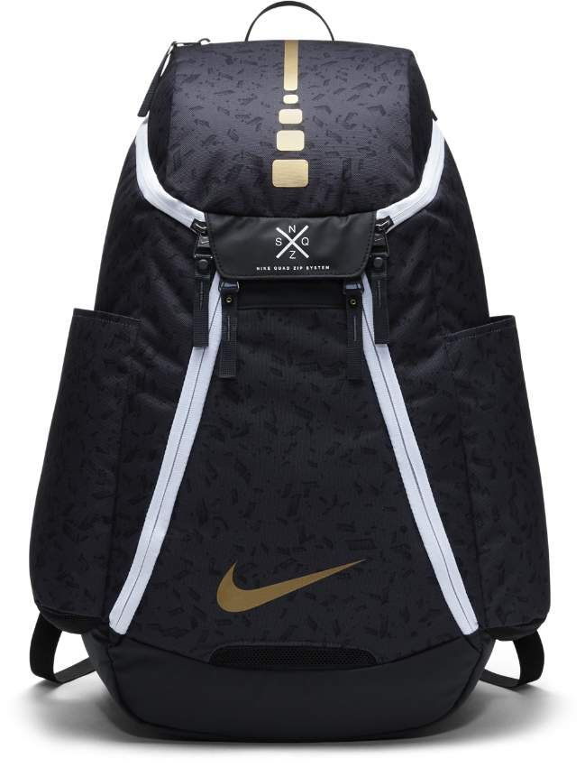 55b1e7b91b2a8 Nike Hoops Elite Max Air Team 2.0 Graphic Basketball Backpack (Black ...