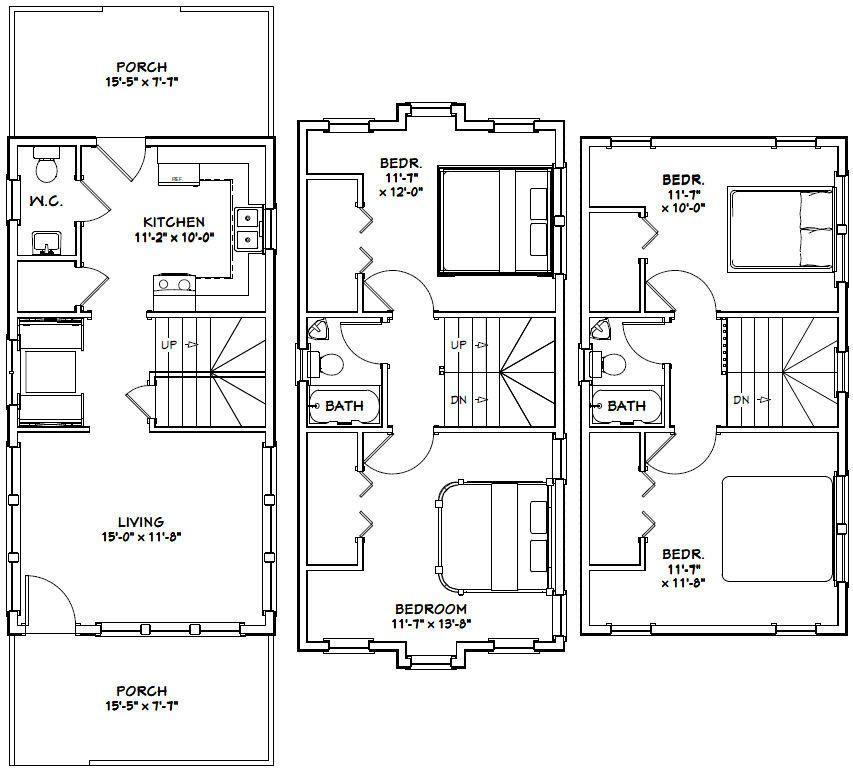 16x30 House 16x30h20c 1 352 Sq Ft Excellent Floor