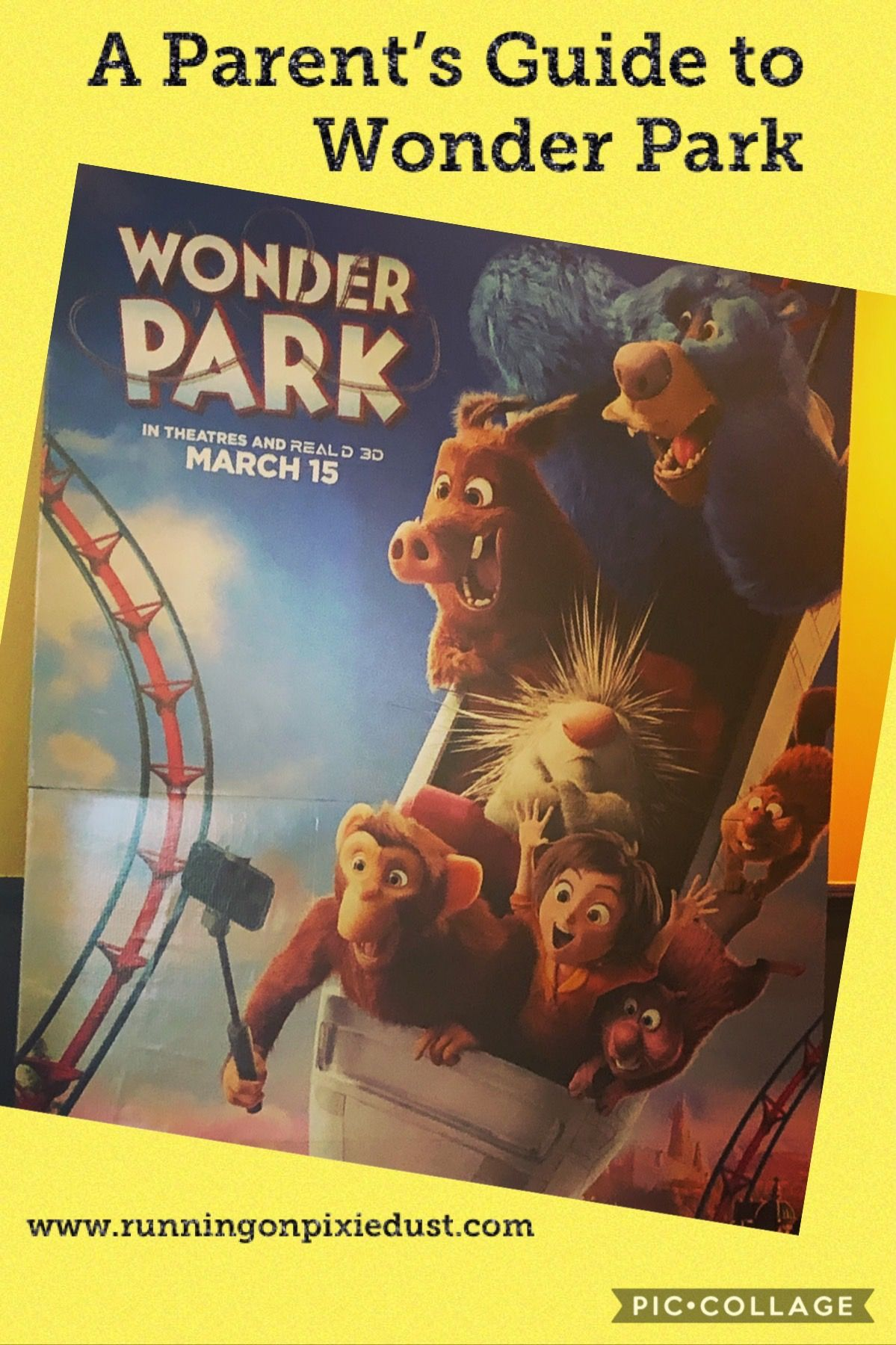 Check out what you need to know about seeing Wonder Park with your kids! #WonderPark #Movie #Review